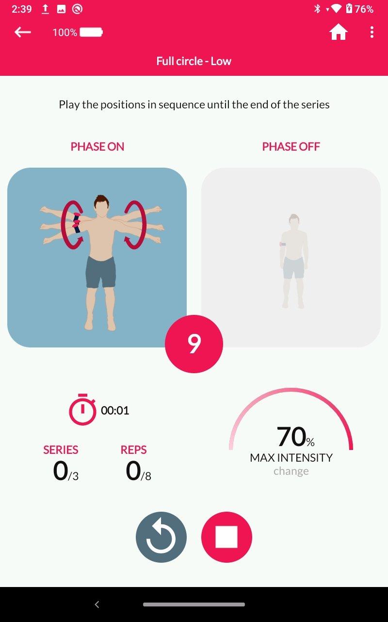 Total Reverse Arthroplasty Exercise